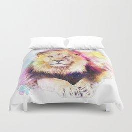 Sunny lion Duvet Cover