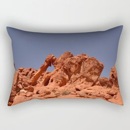 Elephant Rock, Valley of Fire Rectangular Pillow