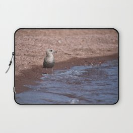Gull in the Waves Laptop Sleeve