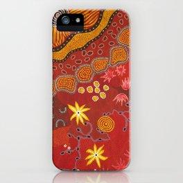 Aboriginal summer iPhone Case