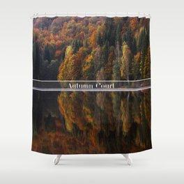 Autumn Court Shower Curtain