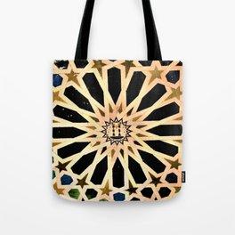 Azulejo de La Alhambra Tote Bag