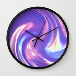 Unicorn Ice Cream Swirl Wall Clock