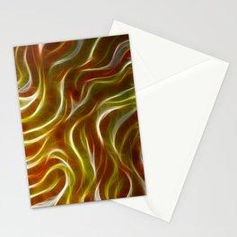 Crackling Gold Stationery Cards