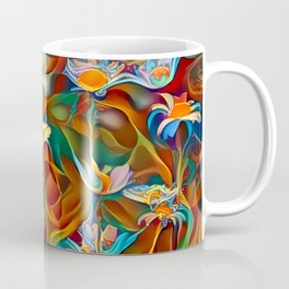 Psychedelic Daises Coffee Mug