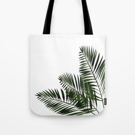 Tropical Exotic Palm Leaves I Tote Bag