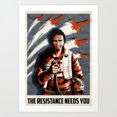 The Resistance Needs You Again! Art Print