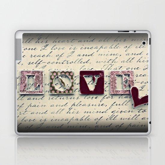 L.O.V.E. Laptop & iPad Skin