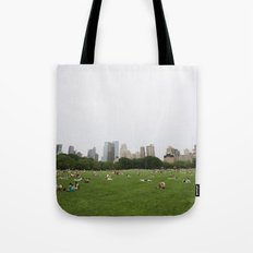 Sheep Meadow, Central Park, NYC Tote Bag