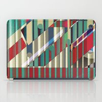 industrial iPad Cases featuring Industrial Delusions by Fernando Vieira