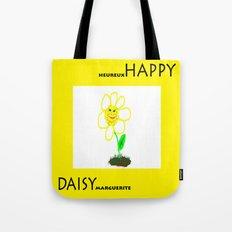 Happy Daisy Tote Bag