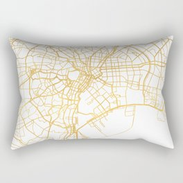 TOKYO JAPAN CITY STREET MAP ART Rectangular Pillow