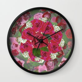Anniversary 8 Fade Wall Clock