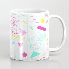 Memphis Peach Coffee Mug