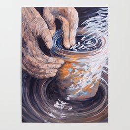In the Potter's Hands Poster