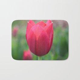 Pink Tulip Bath Mat