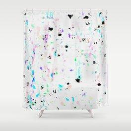 Blots 1 Shower Curtain