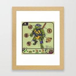 Guide To Your Halfshell Hero Framed Art Print