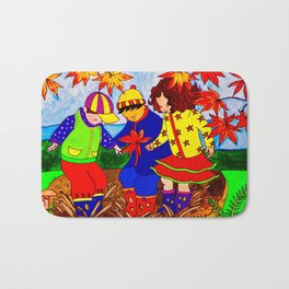 Splashy Puddle Jumpers Bath Mat