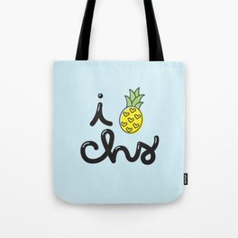 i heart charleston (nº 2) Tote Bag