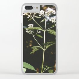 Little Blossoms Clear iPhone Case