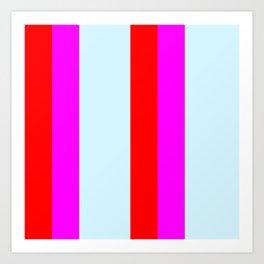 stripe pattern home decor Art Print