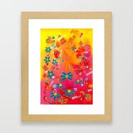 Yellow Delight Framed Art Print