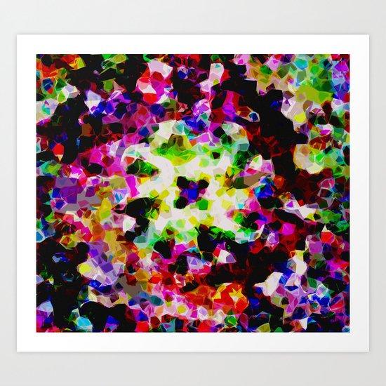 Splodge Art Print