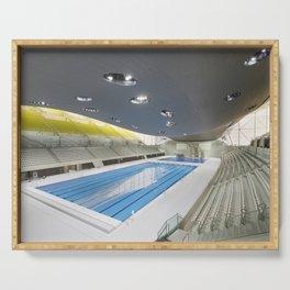 London Aquatics Centre | Zaha Hadid architect Serving Tray