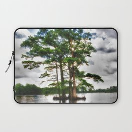 Living Strong Amidst the Flood Laptop Sleeve