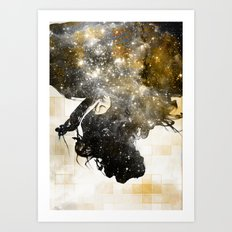 Autumn in the Universe Art Print