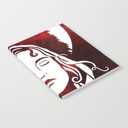 Scarlet and the Wolf Notebook