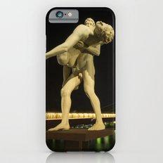 Lyon Bridge Statue by night iPhone 6s Slim Case