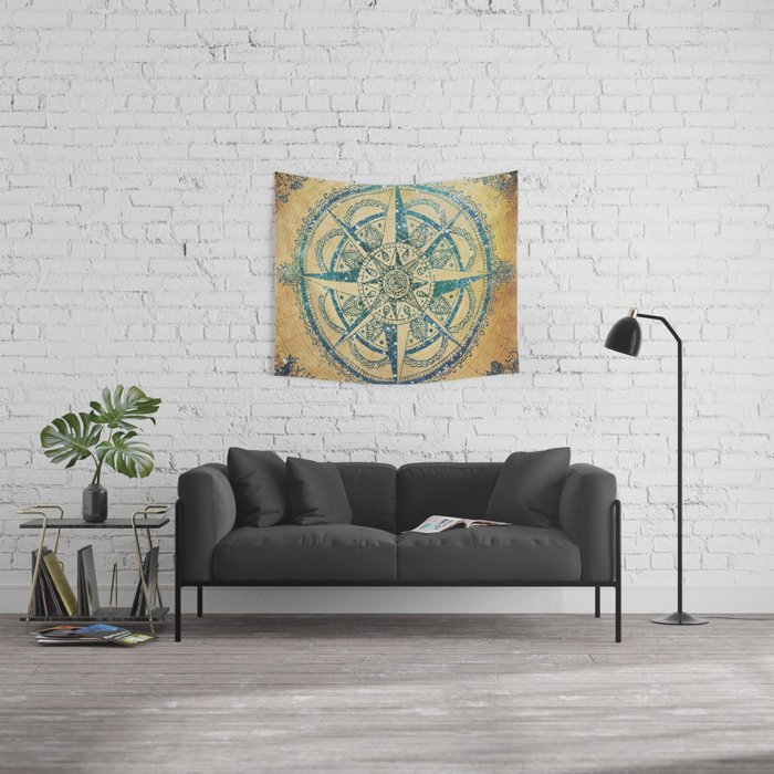 Voyager III Wall Tapestry