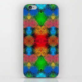 Colorful Goa Painting iPhone Skin