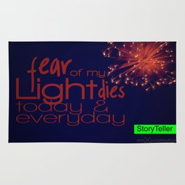 Fear Of My Light Dies Rug