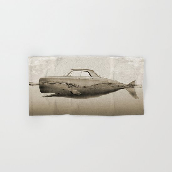 the Buick of the sea Hand & Bath Towel