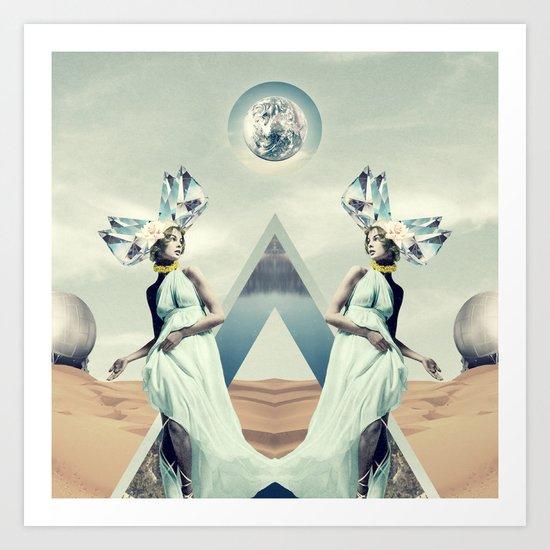 Crystalfilm Art Print