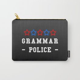 Grammar Police Carry-All Pouch