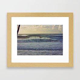 Let it flow on the islands of Hawaii Framed Art Print