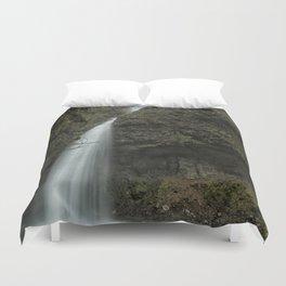 Upper Latourell Falls, No. 1 Duvet Cover