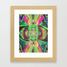 Dragon Fruit Framed Art Print