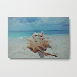 Life is better at the Caribbean - Fine Art Photography Metal Print