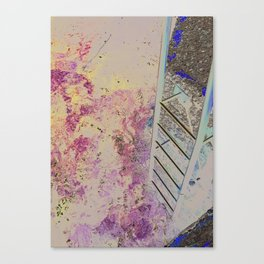 MEDITERRANEAN STAIRS Canvas Print
