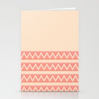 peach Stationery Cards featuring Peach by Lyle Hatch