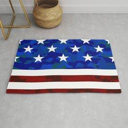 Stars & Stripes (Camouflage) Rug