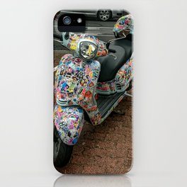 Mighty Moped. iPhone Case