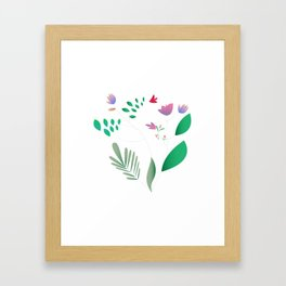 Light Summer Framed Art Print