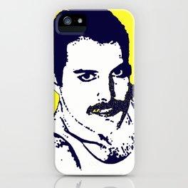 Freddy Mercury - Queen pop art iPhone Case