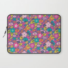 Floral Brights Laptop Sleeve